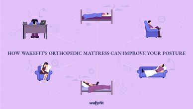 How The Wakefit Orthopedic Memory Foam Mattress Can Improve Your Posture
