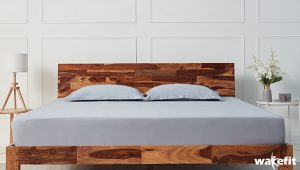 solid wood beds - Wakefit