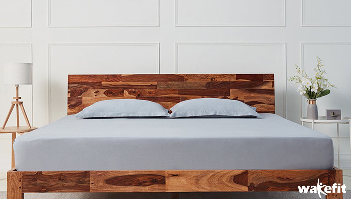 Luxury Solid Wood Beds For Your Master Bedroom - Wakefit