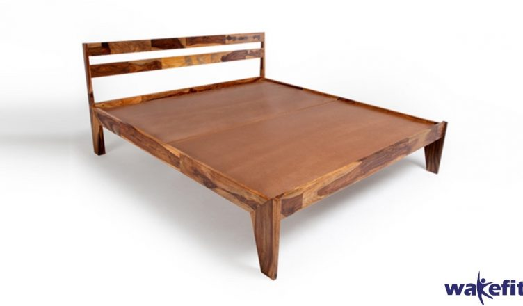 Centaurus wooden bed with storage