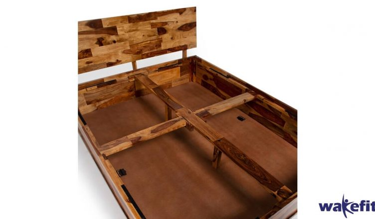 Your Search for A Sheesham Wood Bed with Storage Ends Here