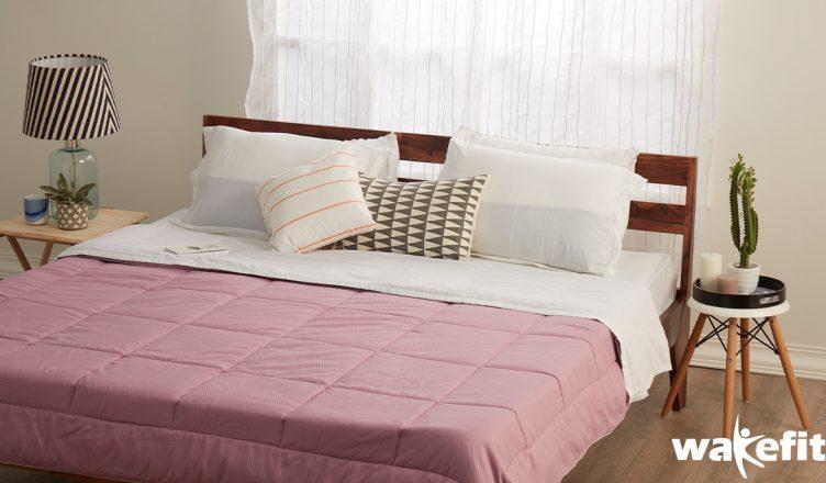 Sheesham wood bed online