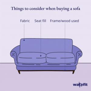 comfortable sofa | Wakefit