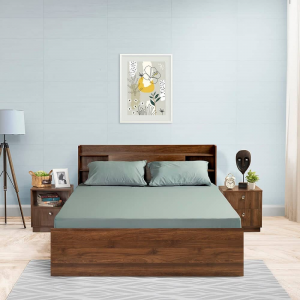 Slate cotton bedsheet|wakefit