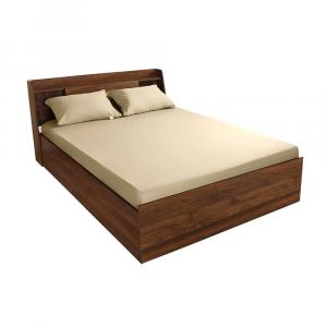 Beige cotton bedshee wakefit