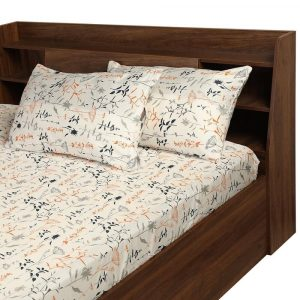 Bookeh cotton bedsheet wakefit