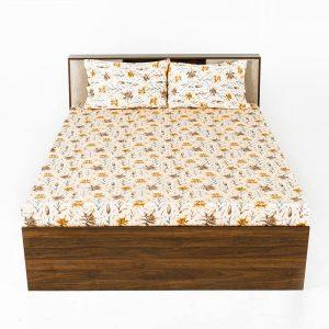 Daisy cotton bedsheet wakefit