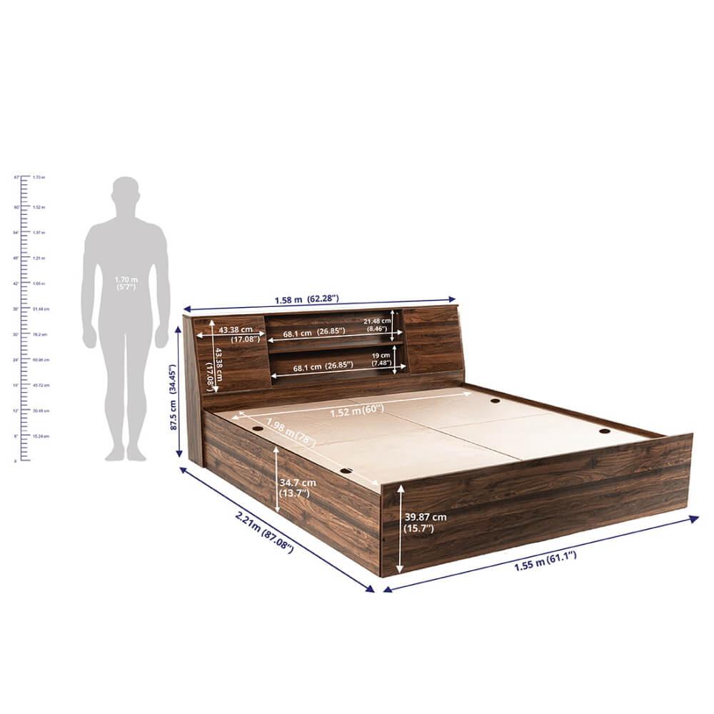 Wakefit Bed 2
