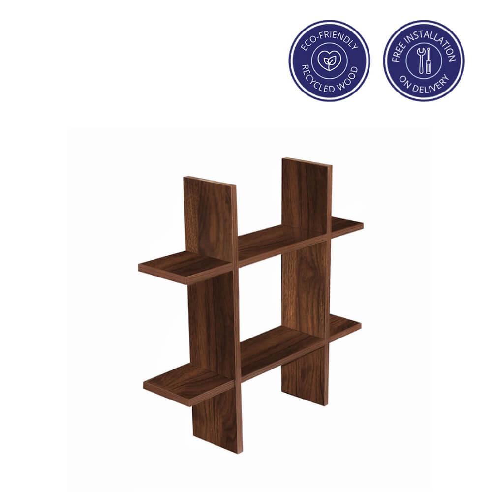 Phoenix Tic Tac Toe wall shelf   Wakefit