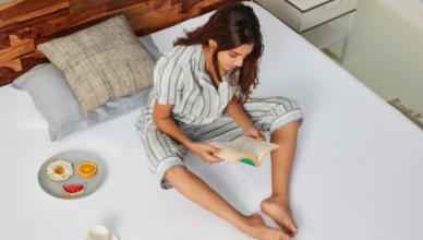 Wakefit Teak Wood Bed